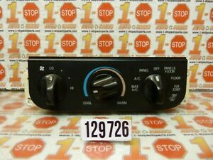 99 00 01 02 03 04 Ford F150 Ac Heater Climate Temperature Control Xl3h 19e764 a