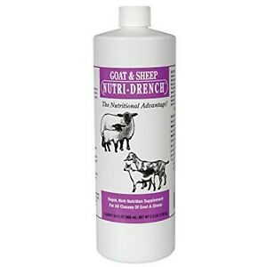 Nutri drench Goat And Sheep Nutrition Supplement Solution 1 Quart