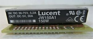 Jw150a1 Lucent Dc dc Regulated Power Supply Module 1 Output 150w Hybrid