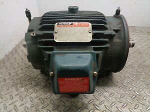 Reliance Double shaft Motor p18g3882a 3hp 230 460v 7 8 3 9a 1755rpm
