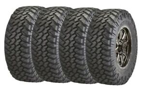 33x12 50r22lt E 109q Set 4 Nitto Trail Grappler Mud Terrain Tires 32 8 33125022