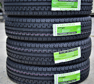 4 New Premium Cargo Max St 235 85r16 G 14 Ply Steel Belted Radial Trailer Tires