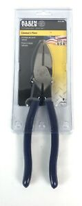 Klein Tools 9 Inch Hi leverage Side Cutting Pliers D213 9ne New Free Ship