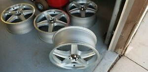 Rare Lightweight Jdm 18 7 5 5x112 5x100 Adler Racing Rims