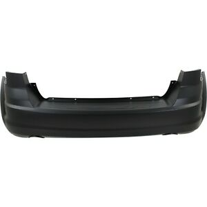 Bumper Cover For 2009 2018 Dodge Journey With Dual Exhaust Holes Rear Plastic