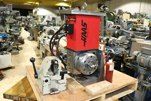 Haas Dividing Head W Servo Controller Tailstock Micro Switch Indexer