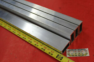 4 Pieces 3 4 x 1 1 2 x 1 8 Wall Aluminum Rectangle Tube 60 Long 6063 T52