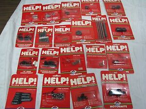 Lot Of 20 New Help Parts From Motormite