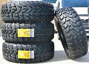4 New Mazzini Mud Contender Lt 285 55r20 Load E 10 Ply M t Mud Tires