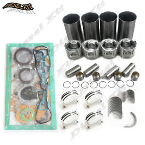 New Shibaura N844 Engine Overhaul Kit Std For L150 Ford New Holland Skid Steer