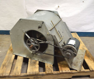 Ge 5k49mn4250fz 3 ph 56y Squirrel Cage Blower Fan 1725 rpm Air over Belt driven