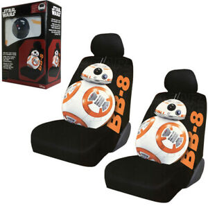 Disney Star Wars Bb 8 Robot Car Truck 2 Front Seat Covers With Headrest Covers