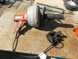 Needs Snake Cable Ridgid K 45 Drain Cleaning Snake Electric