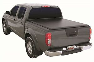 Access Literider 33179 Truck Soft Bed Cover For 05 16 Nissan Frontier Crew 5