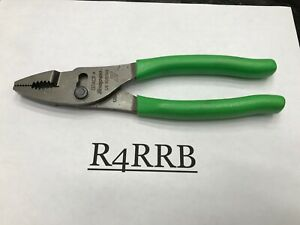 New Style Snap On Tools Usa Green Soft Grip 8 Hd Combo Slip Joint Pliers 137acf