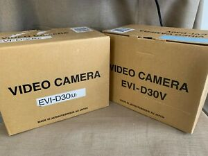 Sony New Evi d30v Used D30 Video Conference System Camera Pan Tilt Zoom 12x