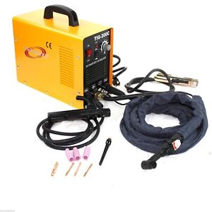 200 Amp Dc Inverter Tig Mma Welding Machine Welder Stainless carbon Steel 220v