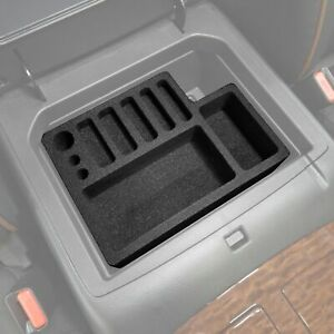 Fits Nissan Armada 2017 2019 Center Console Organizers 2pc Inserts Set