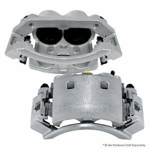 For 2007 2015 Bmw X5 X6 2 Front Zinc Disc Brake Calipers