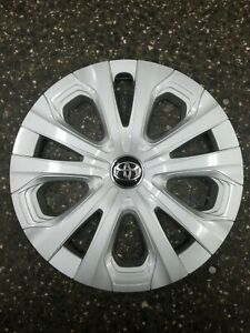 Oem 2019 Toyota Prius 15 Silver Hubcap Wheel Cover 42602 47250 Free S