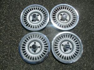 1979 To 1984 Ford Mustang Fairmont Zephyr 14 Inch Turbine Hubcaps Wheel Covers