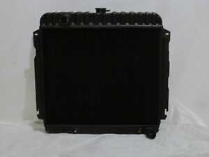 Mopar Black Radiator 22 Cuda Challenger Charger Road Runner Superbee 1970 1972