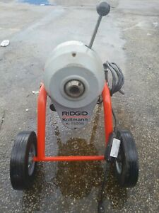 Ridgid K 1500b Drain Cleaning Machine