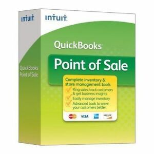 Quickbooks Desktop Pos Basic 18 2018 New With Payments Free Pin Pad