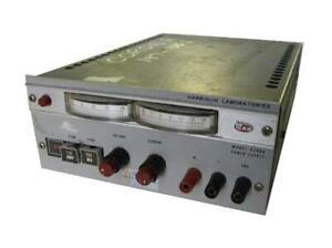 Harrison Lab 6200a Power Supply 0 40 Volts 0 75 Amps 0 20 Volts 1 5 Amps