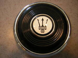 Maserati Horn Button For Nardi 1960 s Steering Wheels 2 Function 70 Mm New Nos