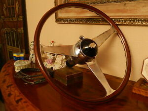 Jaguar Xk120 Xk 120 Wood Steering Wheel Nardi 16 Original Vintage Nos New