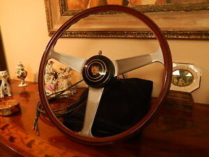 Jaguar Xk140 Xk 150 Wood Steering Wheel Nardi 16 Original Vintage Nos New