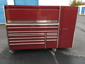 Snap On Triple Bank Hutch And Side Cab Tool Box