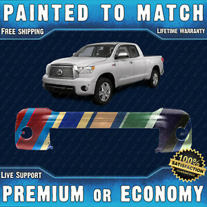 New Painted To Match Front Bumper Replacement For 2007 2013 Toyota Tundra 07 13