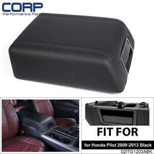 Oem Center Console Arm Rest Lid Top Pad Cover For 2004 2008 Ford F 150 Black
