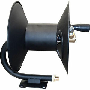Ar North America 5702 100 Foot Steel Pressure Washer 0 375 In Hose Reel Black