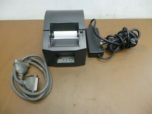 Star Micronics Tsp600 Thermal Pos Receipt Printer W power Supply And Cable