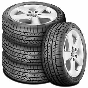 4 New Cooper Zeon Rs3 a 225 55r16 95w A s Performance Tires
