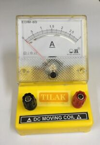 Volt Ampere Galvano Milli Micro Meter Set Of Four S Quality Free Shipping