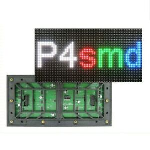 256x128mm High Brightness P4 Outdoor Led Dot Matrix Module 64x32full Color Rgb
