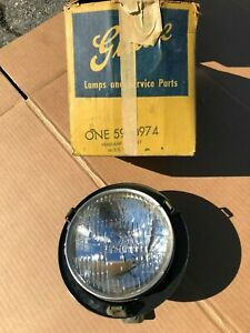 Nos 1960 Impala Rh T3 Headlight Assembly 5950974 Grille Guide 60 Chevy Belair