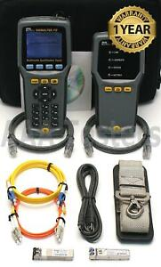 Ideal Signaltek Fo Copper Fiber Cable Network Qualification Tester Signaltek fo