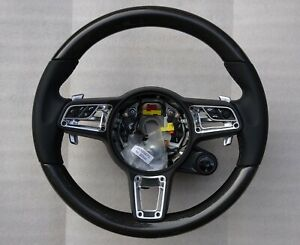 Porsche 991 2 C 2 4 Gts Gt3 Rs Turbo Carbon Fiber Multi Funtion Steering Wheel