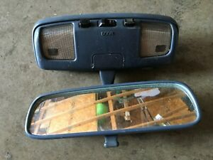 90 91 92 93 94 95 1990 1995 Toyota 4 Runner Rear View Mirror Map Lights Blue