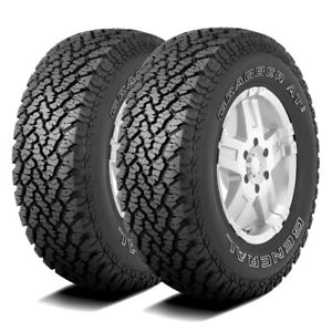 2 New General Grabber At2 265 70r16 112s A t All Terrain Tires