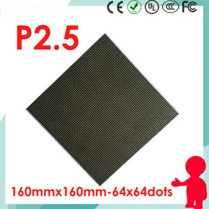 P2 5 Indoor Full Color Led Matrix Display Module 64 64 Pixels 1 32 Scan 3in1 Rgb