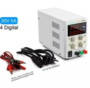 Dc Bench Power Supply Variable Pevono Ps305h 0 30v 0 5a 4 Digital Lcd