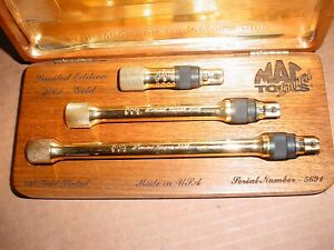 Mac Tools Limited Edition 24k Gold Extension Set