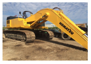 Komatsu Pc650lc 5 Crawler Excavator W Labounty Grapple Bucket