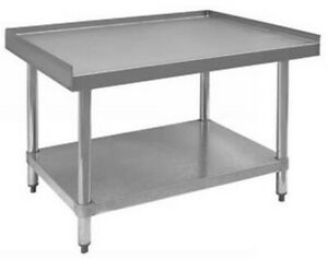 Equipment Stand 30 x12 Arc Stainless Model Ess 3012 16